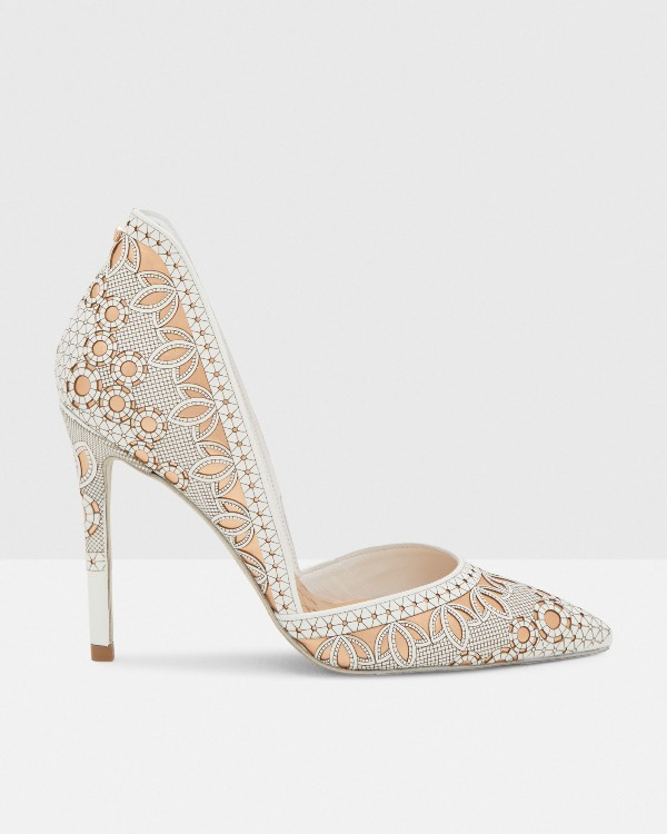 white-wedding-shoes-104 83+ Most Fabulous White Wedding Shoes in 2020
