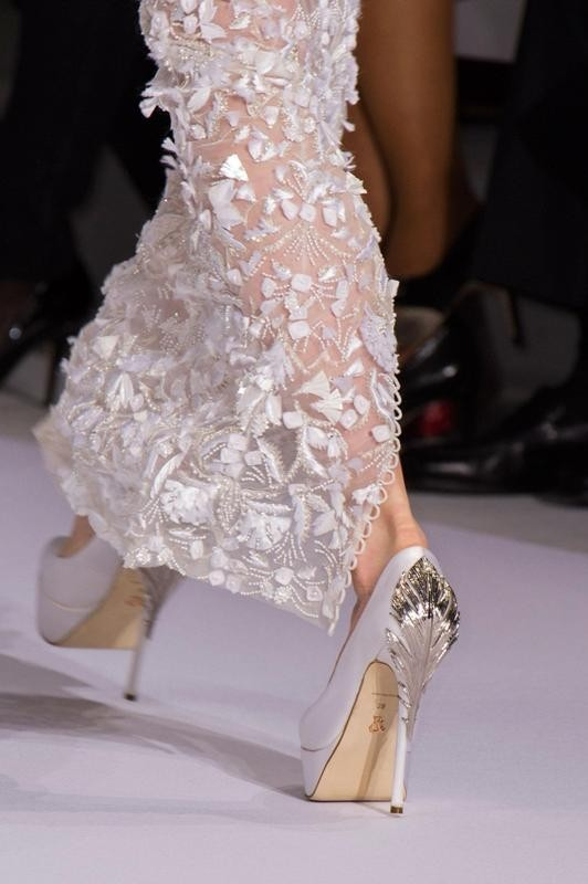 white-wedding-shoes-11 83+ Most Fabulous White Wedding Shoes in 2021
