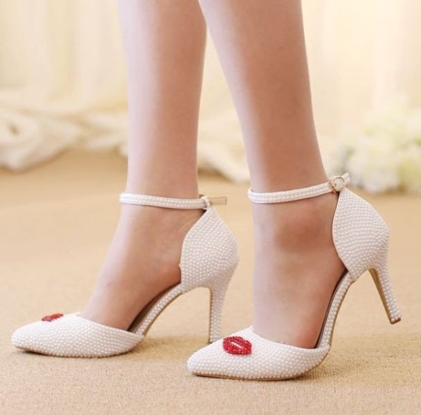 white-wedding-shoes-112 83+ Most Fabulous White Wedding Shoes in 2021