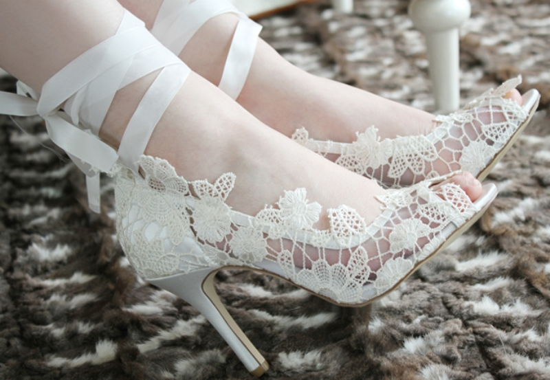 white-wedding-shoes-129 83+ Most Fabulous White Wedding Shoes in 2017