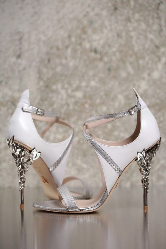 white-wedding-shoes-16 83+ Most Fabulous White Wedding Shoes in 2020