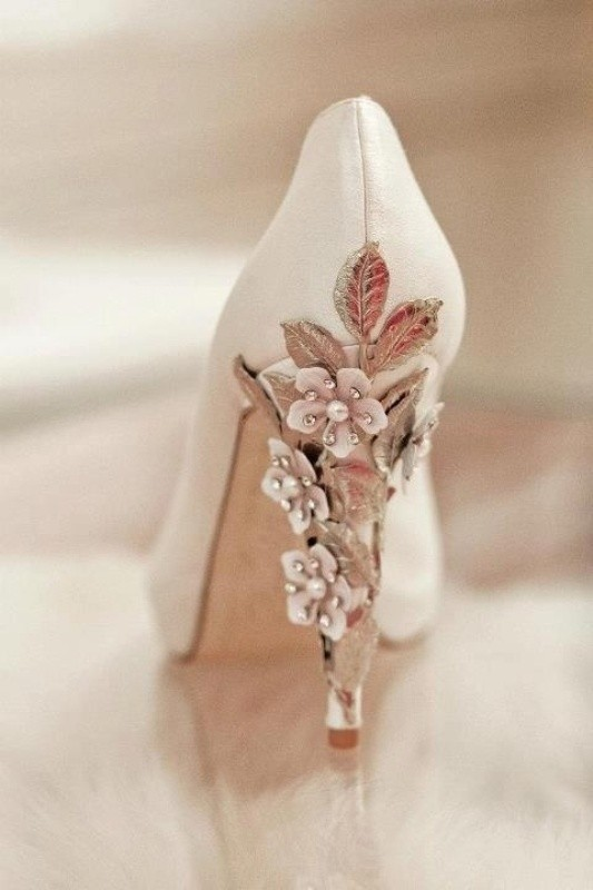white-wedding-shoes-18 83+ Most Fabulous White Wedding Shoes in 2021