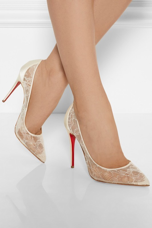 white-wedding-shoes-19 83+ Most Fabulous White Wedding Shoes in 2021
