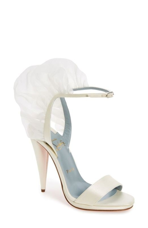 white-wedding-shoes-2 83+ Most Fabulous White Wedding Shoes in 2020