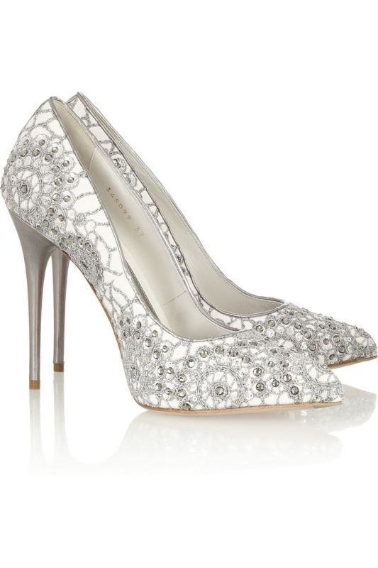 white-wedding-shoes-22 83+ Most Fabulous White Wedding Shoes in 2021