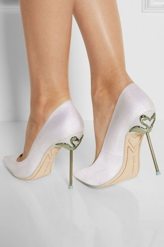 white-wedding-shoes-23 83+ Most Fabulous White Wedding Shoes in 2021