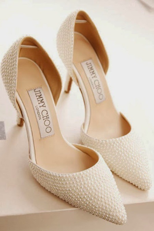 white-wedding-shoes-24 83+ Most Fabulous White Wedding Shoes in 2018