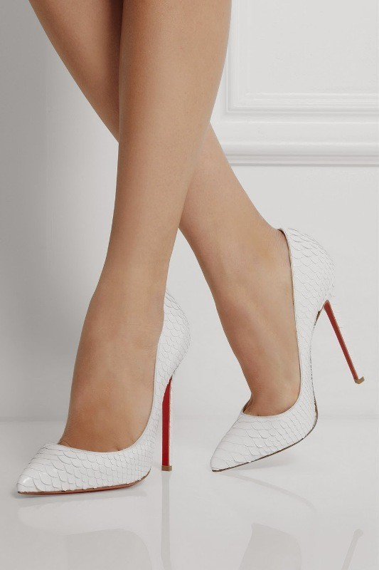 white-wedding-shoes-26 83+ Most Fabulous White Wedding Shoes in 2021