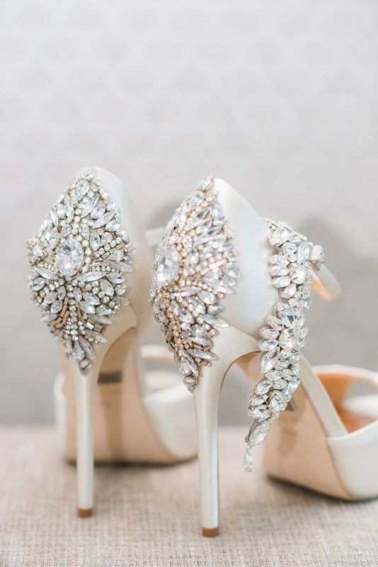 white-wedding-shoes-30 83+ Most Fabulous White Wedding Shoes in 2020
