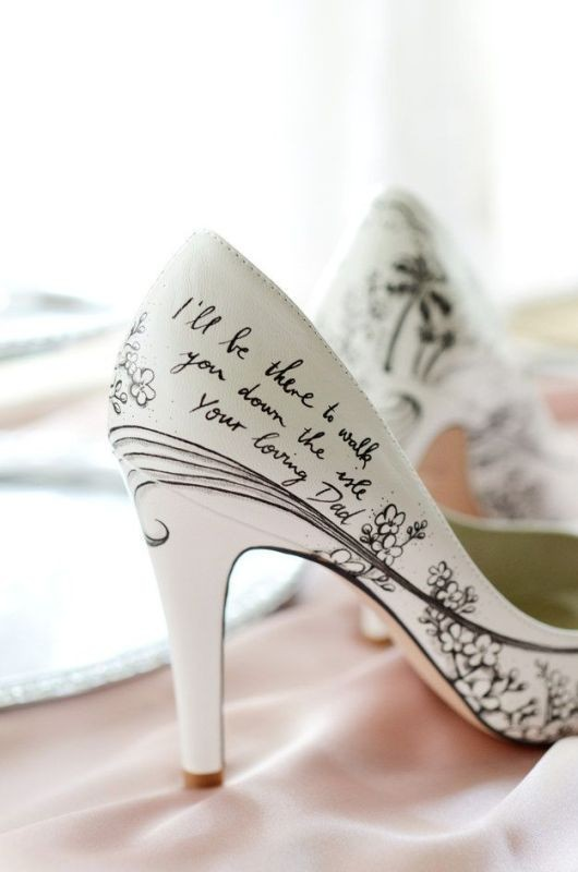 white-wedding-shoes-4 83+ Most Fabulous White Wedding Shoes in 2021