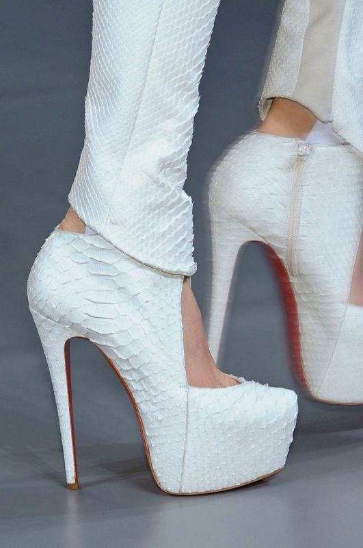 white-wedding-shoes-5 83+ Most Fabulous White Wedding Shoes in 2018