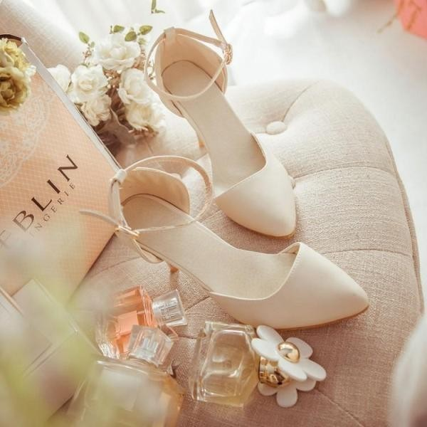 white-wedding-shoes-56 83+ Most Fabulous White Wedding Shoes in 2020