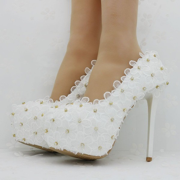 white-wedding-shoes-63 83+ Most Fabulous White Wedding Shoes in 2017
