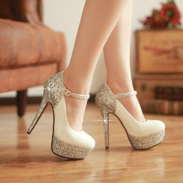 white-wedding-shoes-64 83+ Most Fabulous White Wedding Shoes in 2020