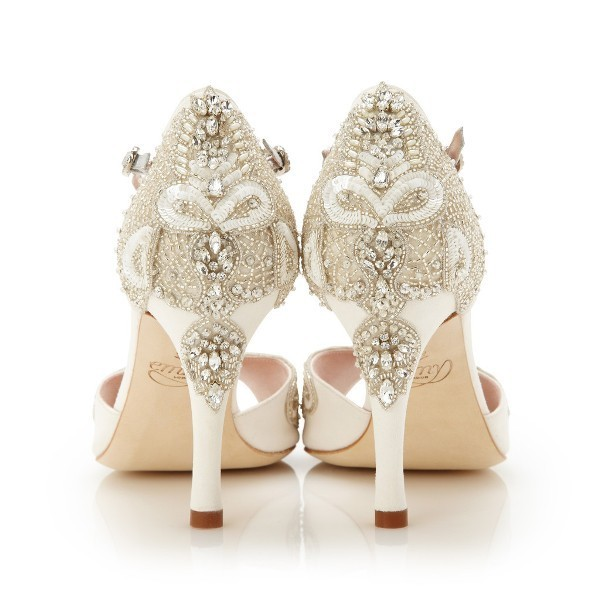 white-wedding-shoes-69 83+ Most Fabulous White Wedding Shoes in 2017