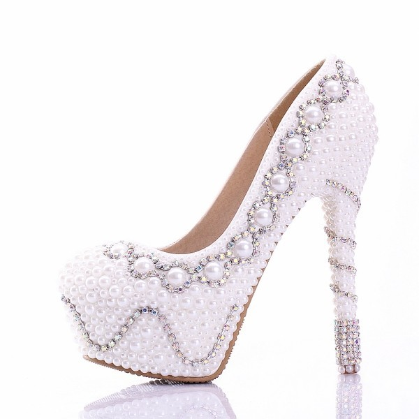 white-wedding-shoes-72 83+ Most Fabulous White Wedding Shoes in 2021