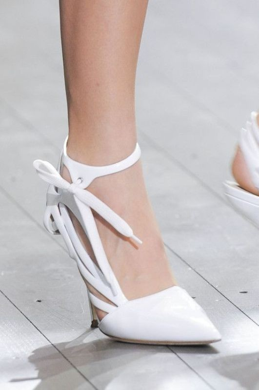 white-wedding-shoes-8 83+ Most Fabulous White Wedding Shoes in 2020