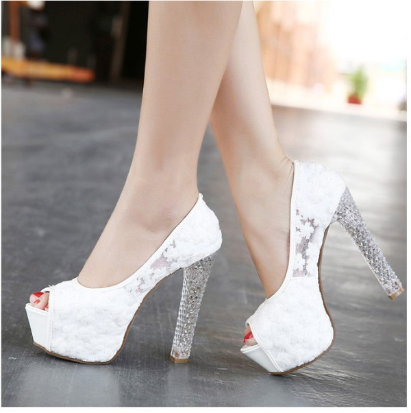 white-wedding-shoes-93 83+ Most Fabulous White Wedding Shoes in 2020
