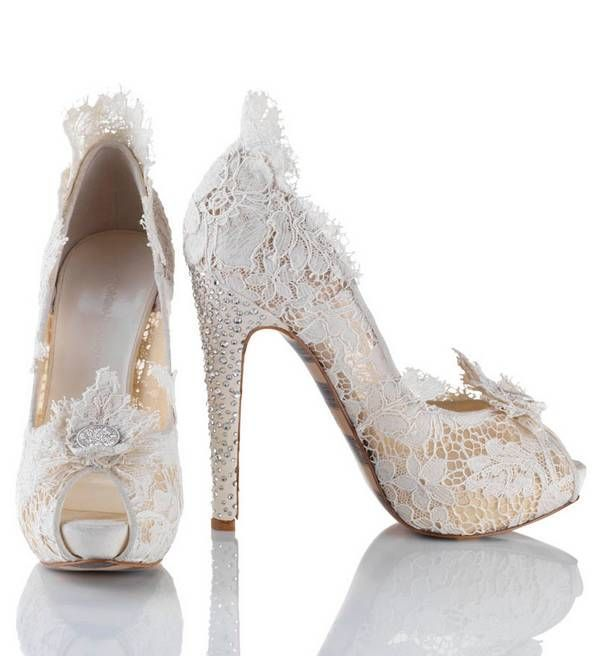 white-wedding-shoes-95 83+ Most Fabulous White Wedding Shoes in 2017