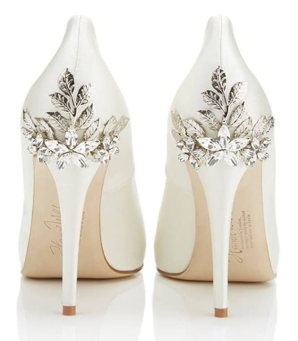 white-wedding-shoes-98 83+ Most Fabulous White Wedding Shoes in 2020