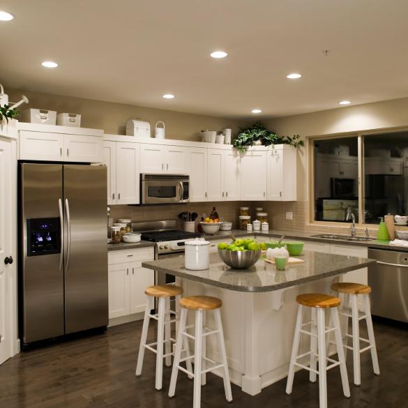 اضاءة-فلل-4 13 Modern Ways to Decorate Your Kitchen!