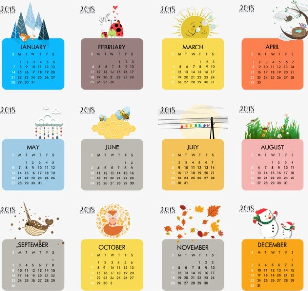 2018-printable-calendars-104 87+ Fascinating Printable Calendar Templates