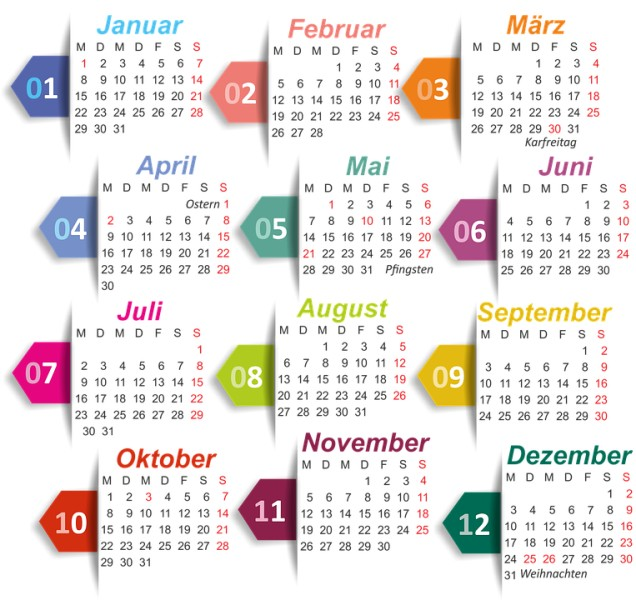 2018-printable-calendars-105 87+ Fascinating Printable Calendar Templates