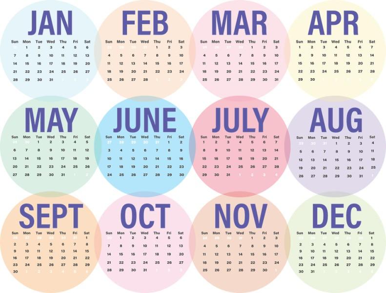 2018-printable-calendars-111 87+ Fascinating Printable Calendar Templates