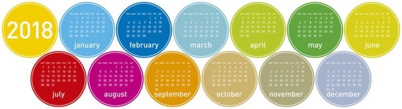 2018-printable-calendars-112 87+ Fascinating Printable Calendar Templates