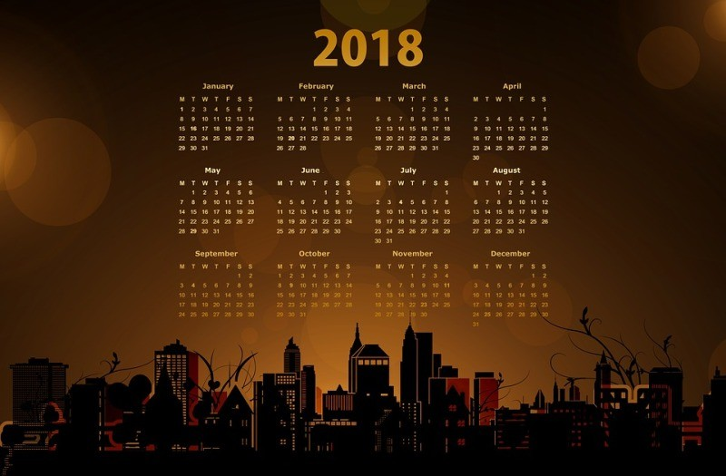 2018-printable-calendars-115 87+ Fascinating Printable Calendar Templates