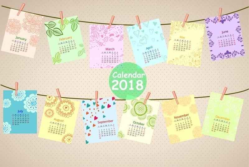 2018-printable-calendars-116 87+ Fascinating 2018 Printable Calendar Templates