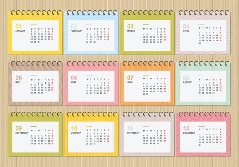 2018-printable-calendars-117 87+ Fascinating Printable Calendar Templates