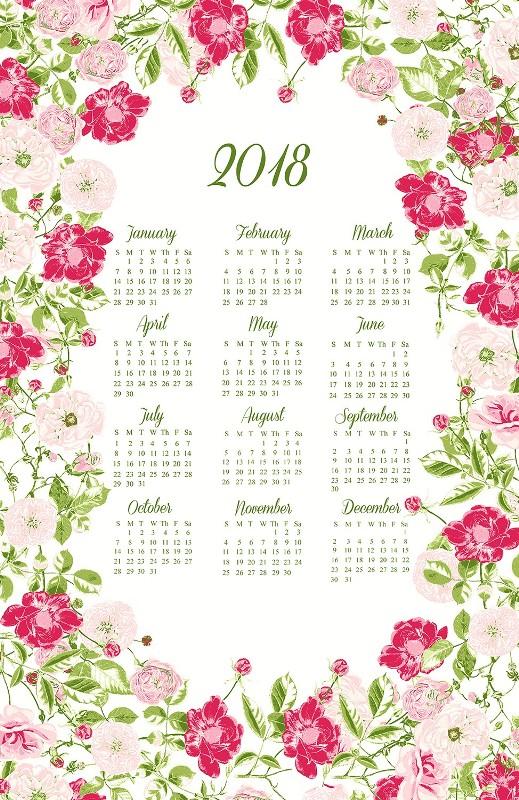 2018-printable-calendars-19 87+ Fascinating Printable Calendar Templates