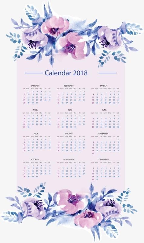 2018-printable-calendars-2 87+ Fascinating 2018 Printable Calendar Templates