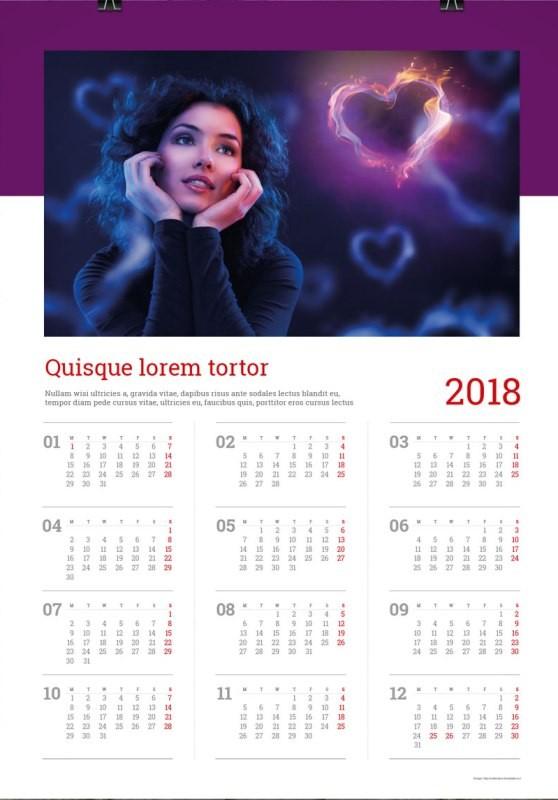 2018-printable-calendars-27 87+ Fascinating 2018 Printable Calendar Templates