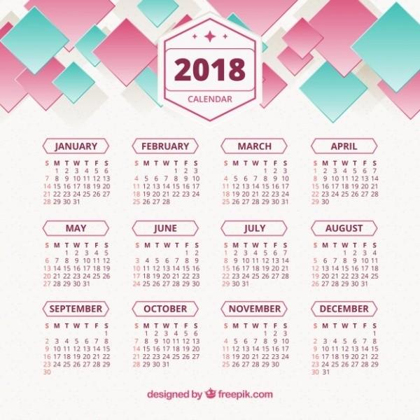 2018-printable-calendars-37 87+ Fascinating 2018 Printable Calendar Templates
