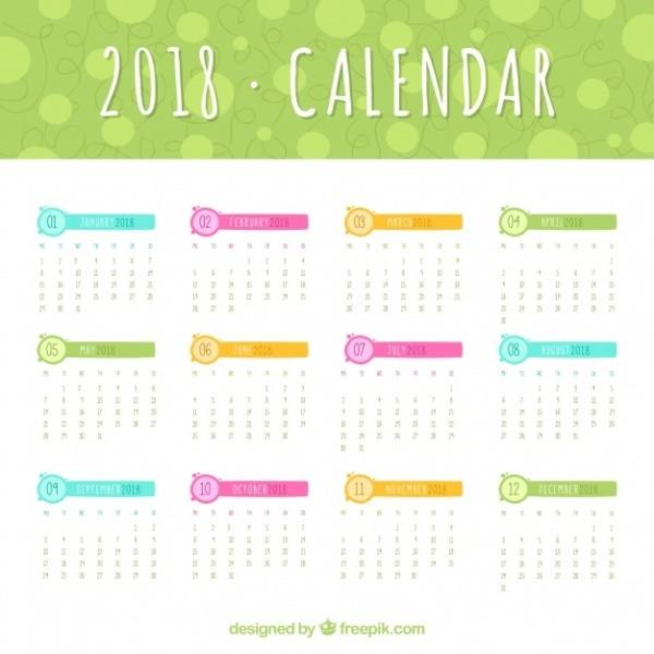 2018-printable-calendars-38 87+ Fascinating 2018 Printable Calendar Templates