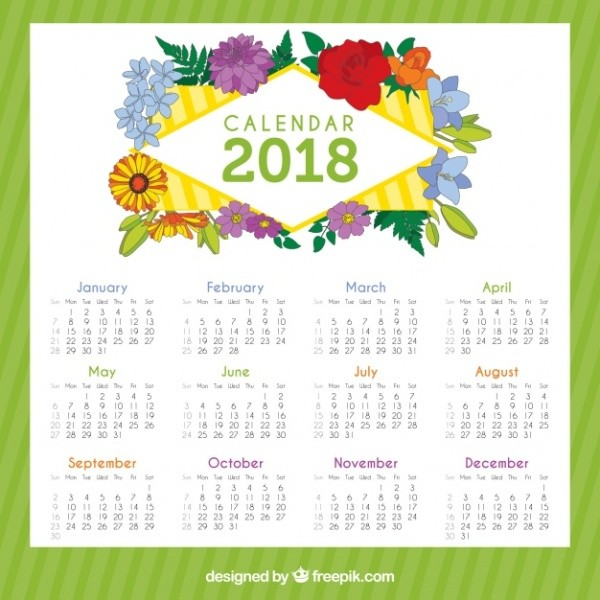 2018-printable-calendars-39 87+ Fascinating 2018 Printable Calendar Templates