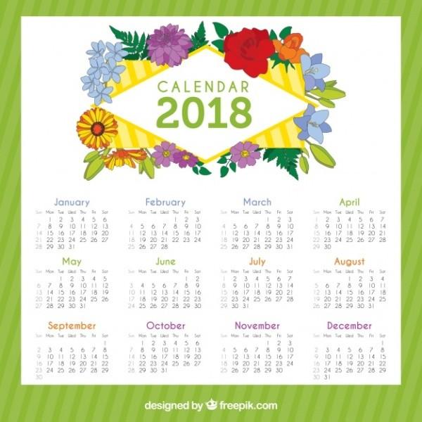 2018-printable-calendars-39 87+ Fascinating Printable Calendar Templates