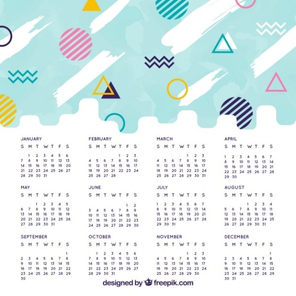 2018-printable-calendars-48 87+ Fascinating Printable Calendar Templates
