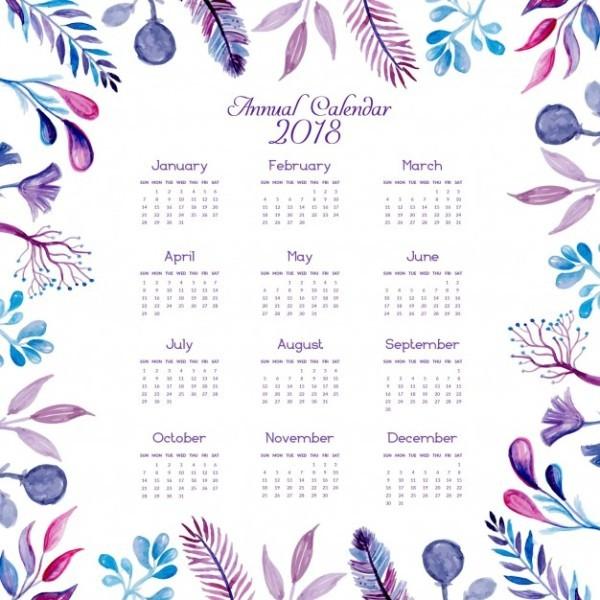 2018-printable-calendars-49 87+ Fascinating Printable Calendar Templates