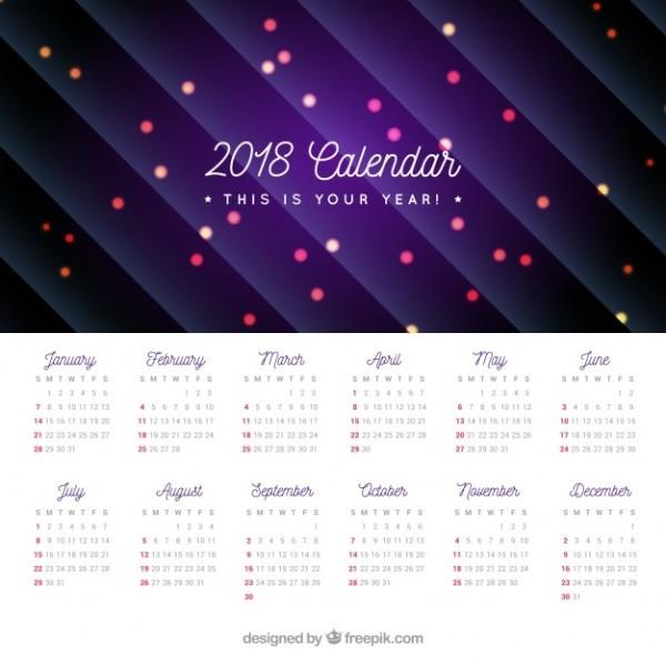 2018-printable-calendars-53 87+ Fascinating Printable Calendar Templates