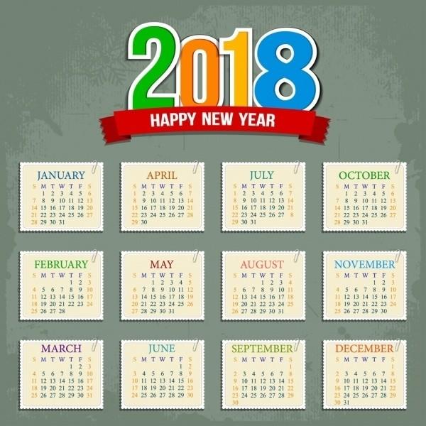 2018-printable-calendars-55 87+ Fascinating 2018 Printable Calendar Templates