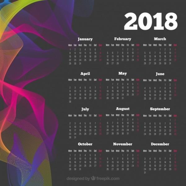 2018-printable-calendars-57 87+ Fascinating Printable Calendar Templates