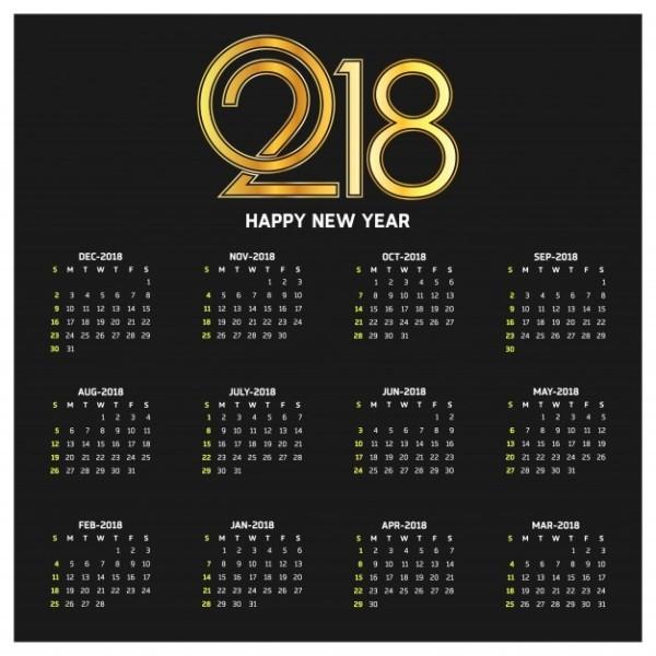 2018-printable-calendars-58 87+ Fascinating Printable Calendar Templates
