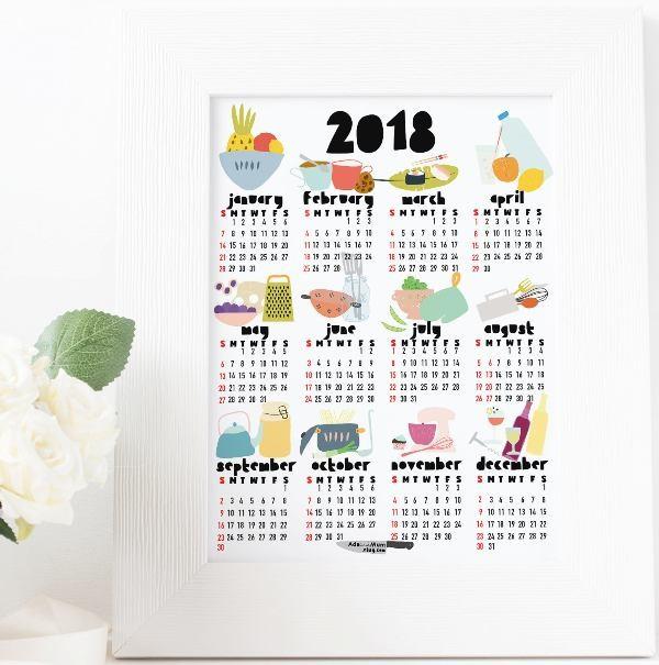 2018-printable-calendars-66 87+ Fascinating Printable Calendar Templates