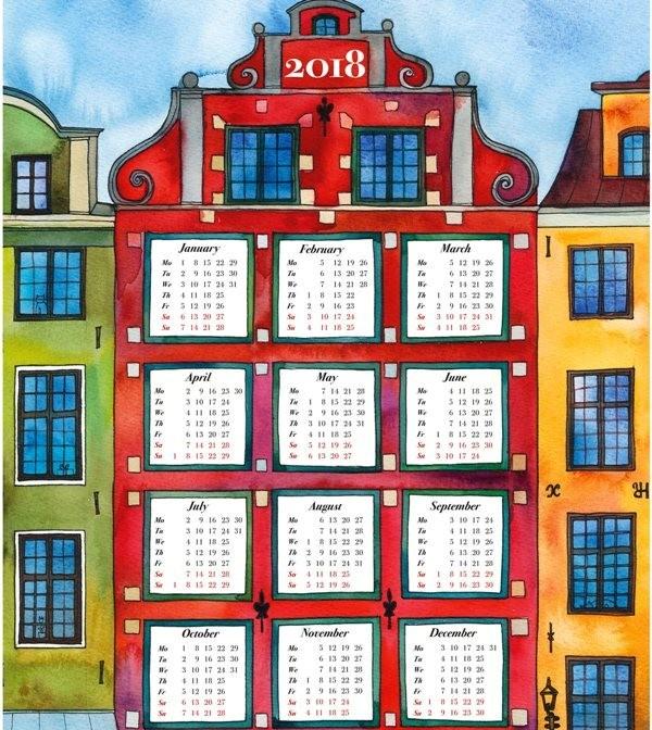 2018-printable-calendars-76 87+ Fascinating Printable Calendar Templates