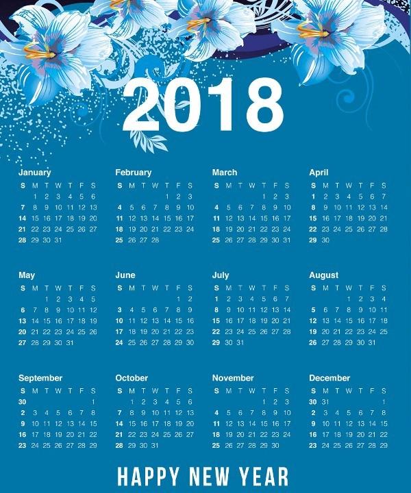 2018-printable-calendars-79 87+ Fascinating Printable Calendar Templates