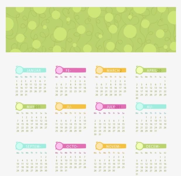 2018-printable-calendars-99 87+ Fascinating Printable Calendar Templates