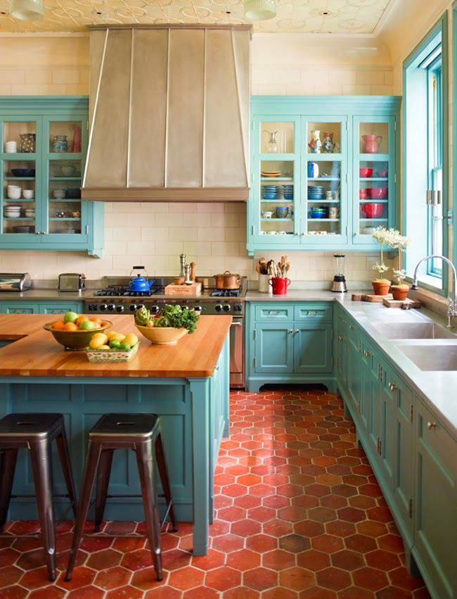 367b47e43ab39eceeb159b85f4b0706a-colorful-kitchen-decor-colorful-kitchens 13 Modern Ways to Decorate Your Kitchen!